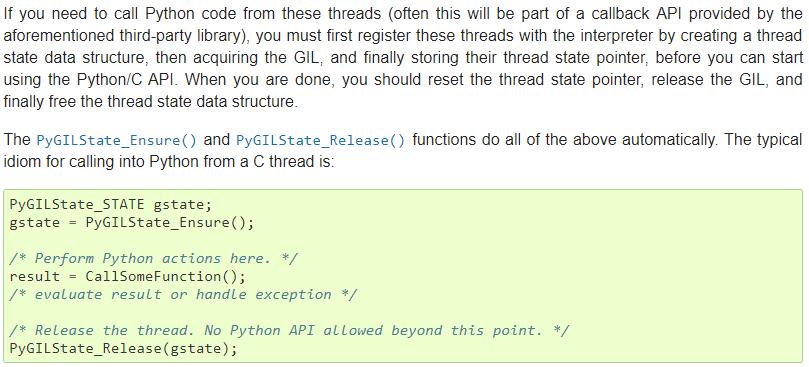 Python Barcode Decoding on Non-Python Created Thread