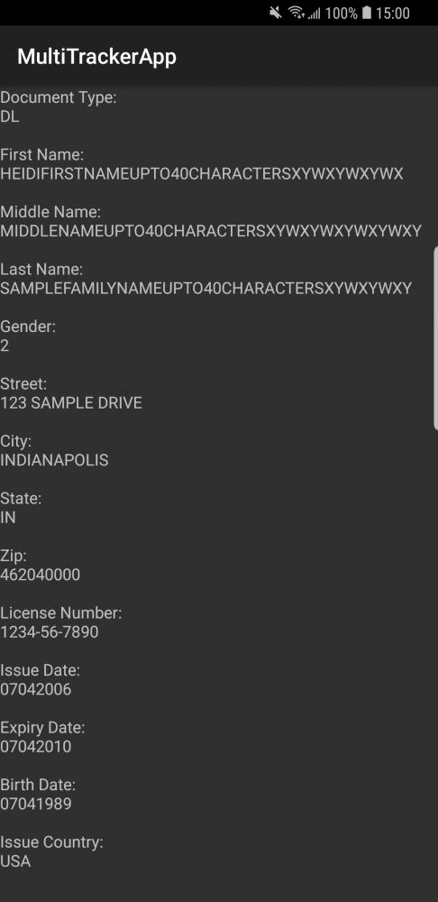 Google driver license