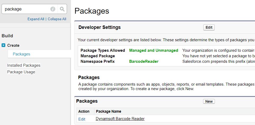 Salesforce AppExchange package