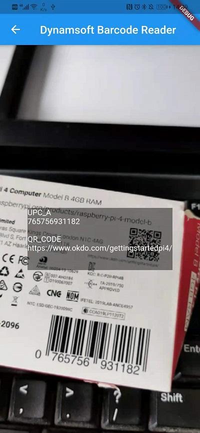 flutter barcode reader