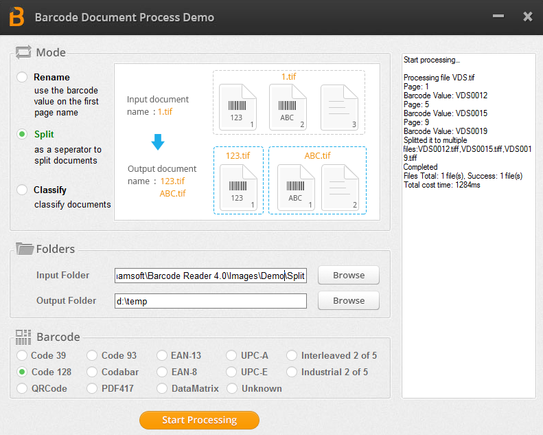 Dynamsoft Barcode Reader SDK is available on both Windows and Mac best Screen Shot