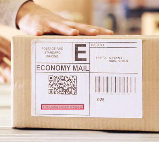 OCR makes it easier to read parcel labels