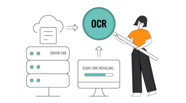 Dynamsoft OCR supports client-side and server-side deployments