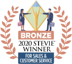 Stevie Bronze Award 2020